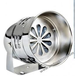 Montage sirène turbine - Police US - motos trikes