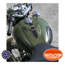 Royal Enfield Protection Réservoir cuir - Tank Panel