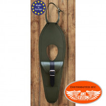Royal Enfield Protection Réservoir cuir - Bouchon Oval