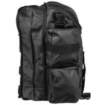 Side view Bag Leather Sissybar Moto custom Harley Biker