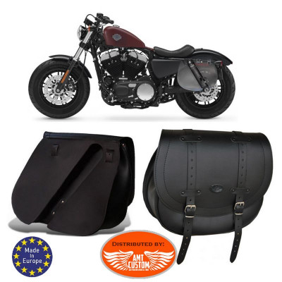 Sacoche laterale Sportster 883 1200
