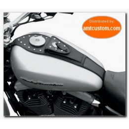 Protection réservoir clous Sportster & Softail  Harley - Leather Tank Panel