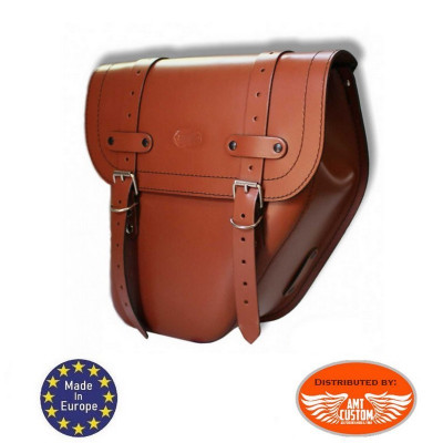 Solo Bag Leather Universal Right Light Brown / Centurion