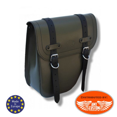 Solo Bag Leather Universal Right / Centurion Military Green
