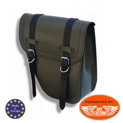 Solo Bag Leather Universal Left / Centurion Military Green