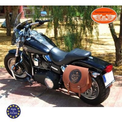 2 NOS Vintage Iron Maltese Cross Patches Chopper Bobber Leather Vest Jacket