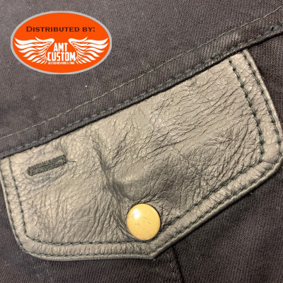 front pocket with sunglasses slot