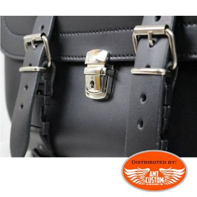 Universal key lock for saddlebags