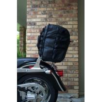 montage de la Sacoche Sissybar Moto custom