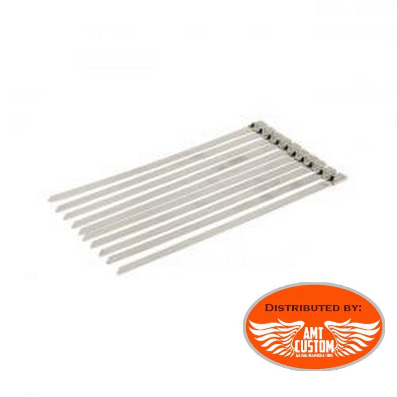 10 colliers de serrages acier inoxydable