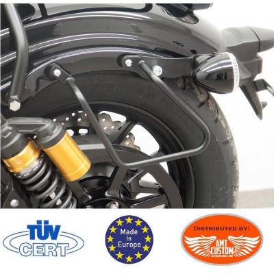 Black Mounting saddlebags holder fit Yamaha XV950R  Bolt et Racer