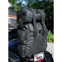 Leather Bag Sissybar Moto custom Harley Biker