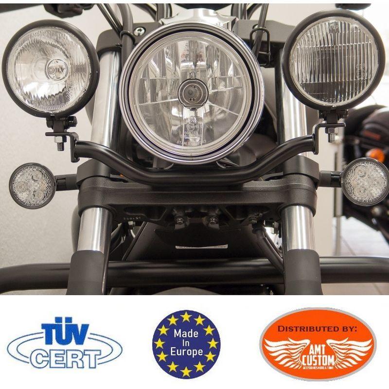 Yamaha Black Spotlight bracket XVS1300 Custom