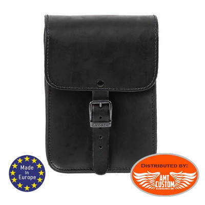 Universal premium leather sissy bar Bag