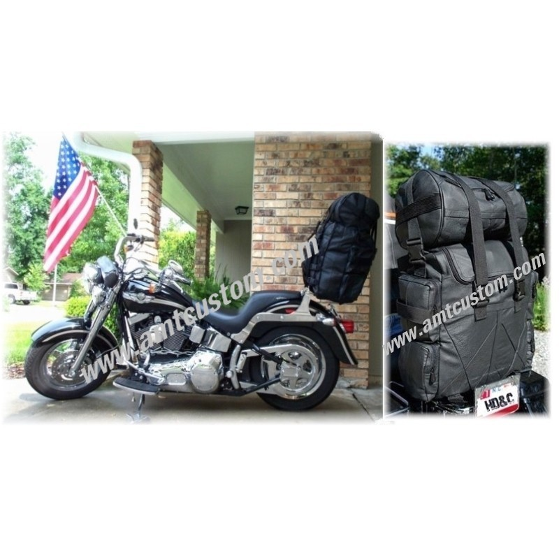 Bag leather Sissybar Moto custom