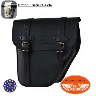 Solo Bag Leather Universal Right Black / Centurion