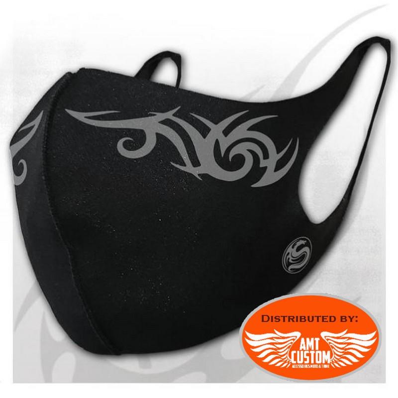 Tribal Logo Dragon Facial Protection Mask