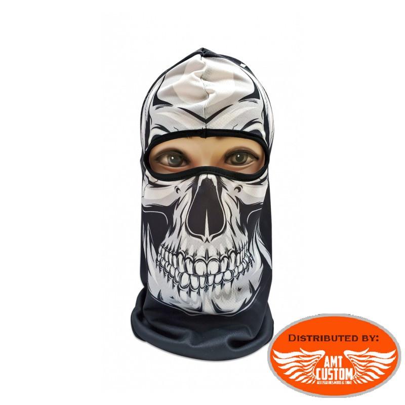 Balaclava mask biker jaw skull