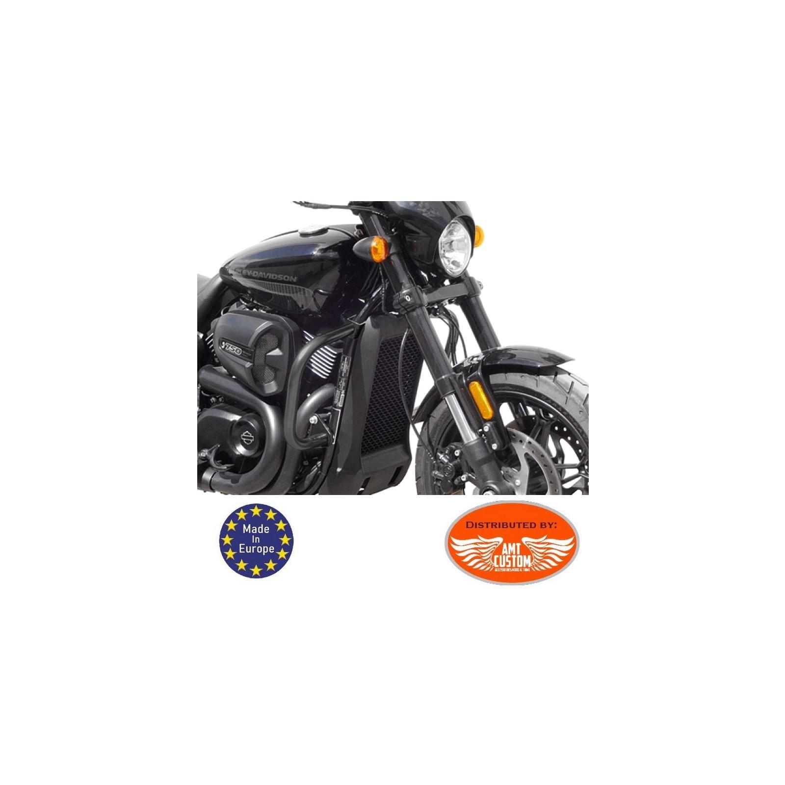 Pare-carter Repose-pieds cf1b pour Harley Softail SPORT GLIDE Street 750