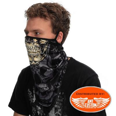 Mask Scarf Neck Skull