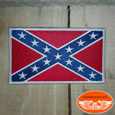 Rebel Flag Biker Patch