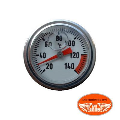 Yamaha Oil plug temperature gauge Celcius