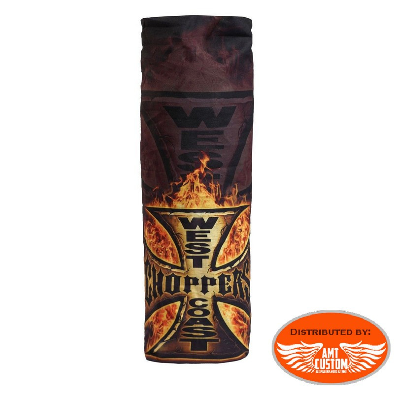 """Tube scarf """"In Flames"""" West Coast Choppers"""