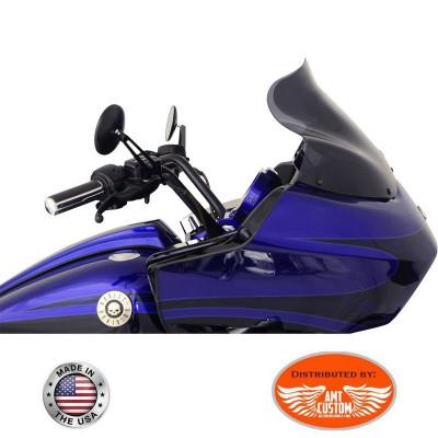 Road Glide fairing Windshield Dark Smoke fit FLTR Bagger Harley Davidson