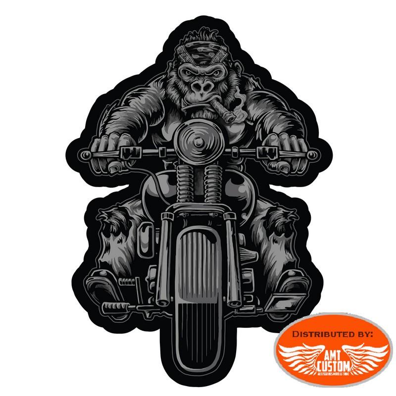 Lethal Gorilla Biker patch