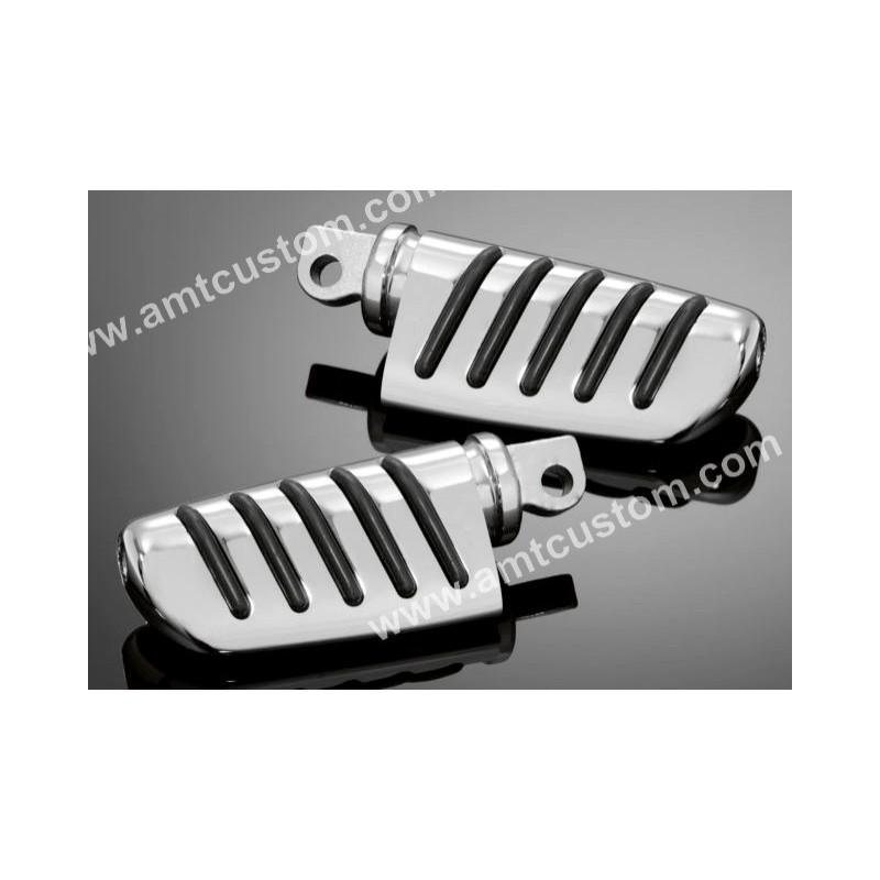 Honda Reposes pieds Confort chrome pilote moto VT125, VT600, VT750, VTX1300, VT1300CX, Fury,.