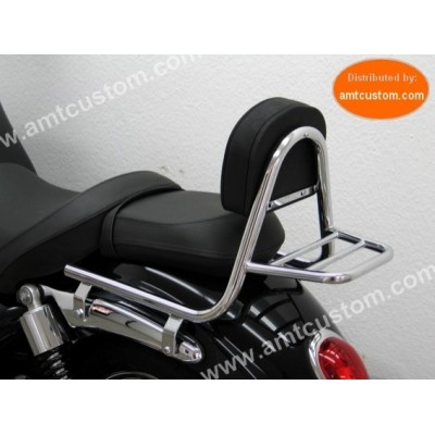 Sissy Bar & porte paquet Triumph Rocket 3 Roadster