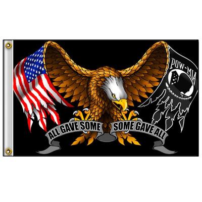 Eagle Vtwin Flag Biker trike chopper