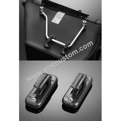 4 clips distance holders Universal bags - custom motorcycle.