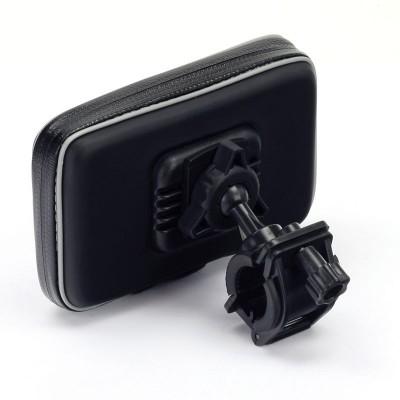 Système de fixation etui sacoche téléphone smartphone GPS moto