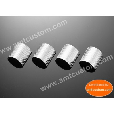 "Entretoise - Bagues de réduction guidon moto 25mm (1"") / 22mm (7/8"")"