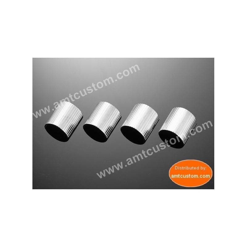 """Entretoise - Bagues de réduction guidon moto 25mm (1"""") / 22mm (7/8"""")"""