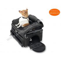 Sacoche chien & chat -  Valise Top Case moto, trike et quad