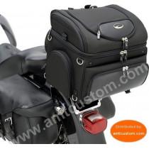Motorcycle bag dog & cat - Basket Case Top bikes Kustom Harley , Trikes