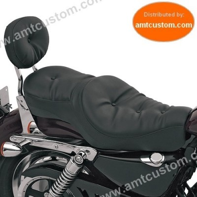 Low Profile Seat for Sportster XL 883 & 1200 Harley