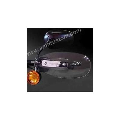 Déflecteurs protège mains Trikes et Sportster Harley XL883 et XL1200
