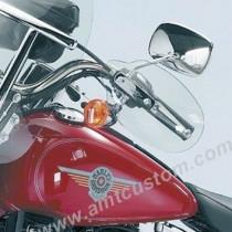 Déflecteurs protège mains moto Trikes et Sportster Harley XL883 et XL1200