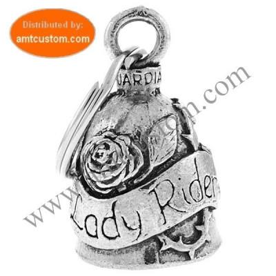 Clochette porte-bonheur Lady Rider Guardian Bell