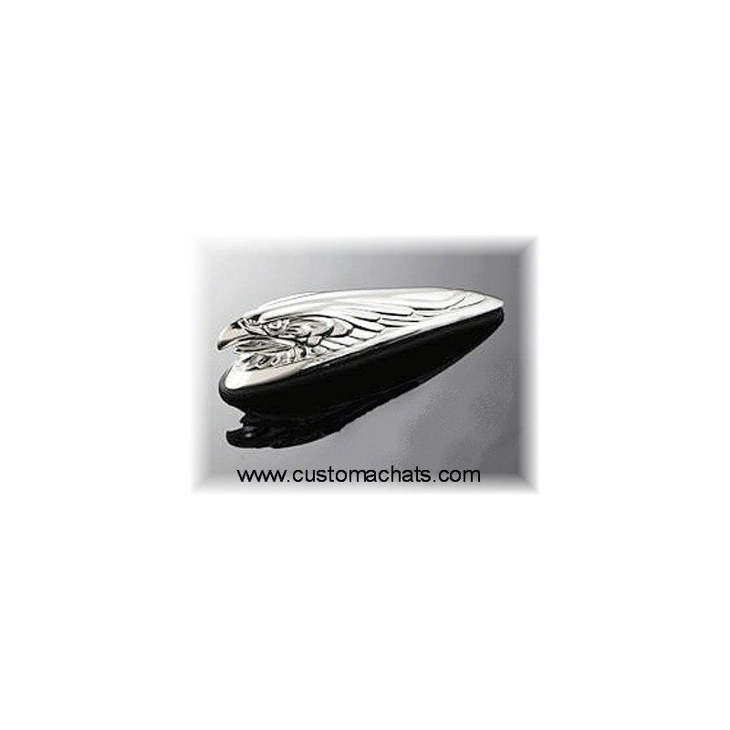 Ornement garde boue Aigle Chrome Moto Custom custom HD harley