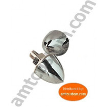 2 bolts screw and nut obus chrome custom motorcycle