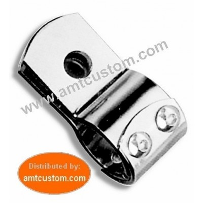 Attache universelle chrome - clamps moto harley custom