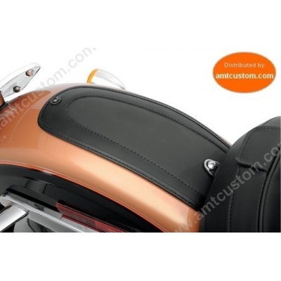 Plastron garde boue cuir Harley Davidson Softail Dyna Sportster