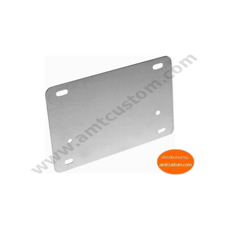 Backing license plate motorcycles stainless steel