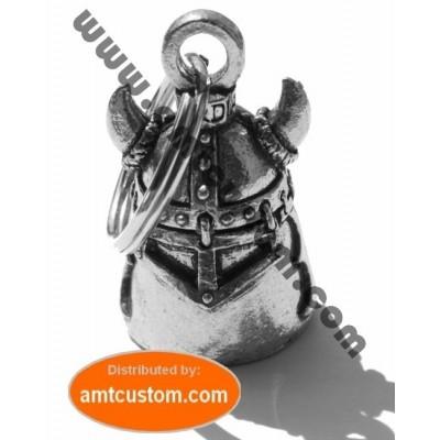 Clochette Pirate Viking porte-bonheur moto Guardian Bell porte clé custom à offrir biker trike
