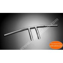 "Guidon Wishbone Chrome 25mm (1"")  Honda, Yamaha, Suzuki et Kawasaki - moto custom"