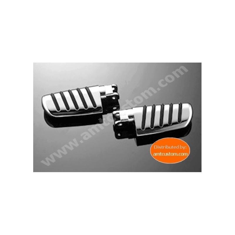 10/731-606 Honda Reposes pieds Confort passager VT125, VT600, VT750, VTX1300, VT1300CX, Fury,..